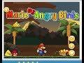 Super Mario Games Online - Mario Vs Angry Birds - Play Kids Games