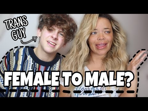 GAY TRANS GUY REACTS TO TRISHA PAYTAS | NOAHFINNCE