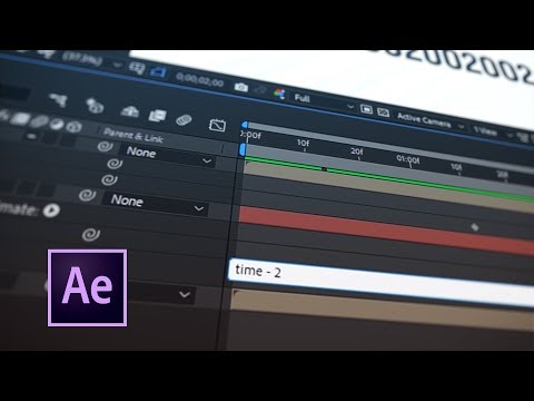Tip 062 – How To Offset the Time Property in After Effects Expressions