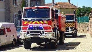 Défilé motorisé du congrès départemental des sapeurs pompiers de l'Allier ( SDIS 03 )