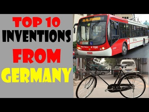 🇩🇪Top 10 Inventions From Germany that changed the world🇩🇪
