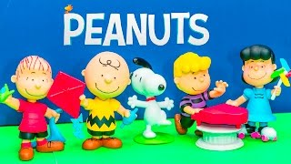 PEANUTS MOVIE Charlie Brown + Snoopy + Paw Patrol Peanuts Snoppy Video Toy Unboxing
