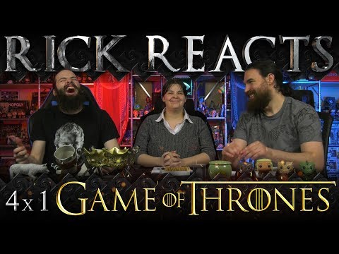 """RICK REACTS: Game of Thrones 4x1 """"Two Swords"""""""
