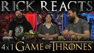 RICK REACTS: Game of Thrones 4x1