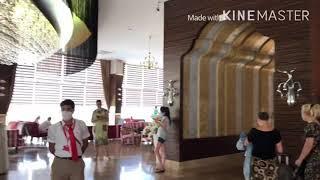 IDEAL PRIME BEACH 5 Подробный обзор отеля ОБЕД НОМЕРА стандарт и семейный