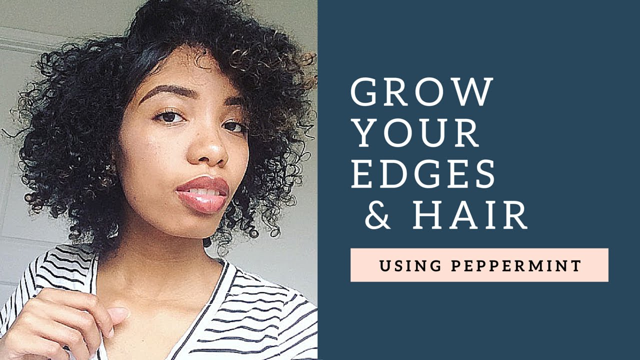 How To Regrow Hair Edges Naturally