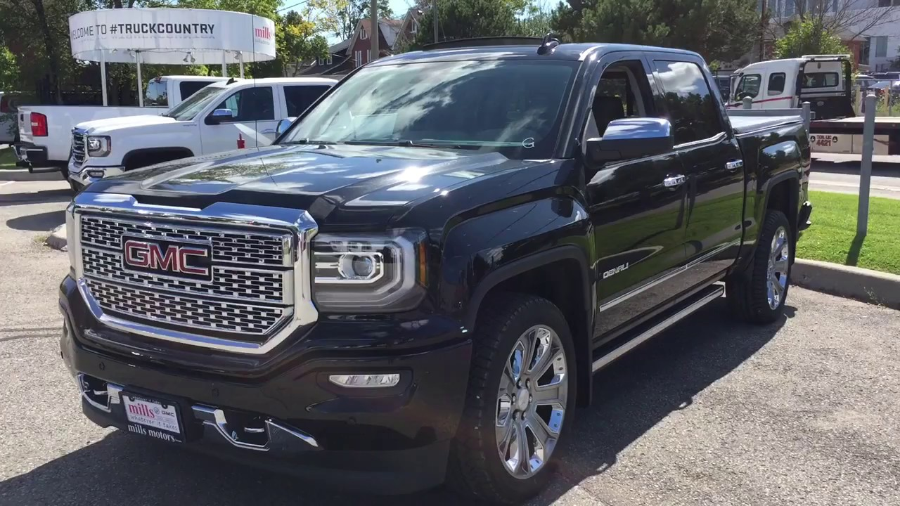 2018 Gmc Sierra 1500 4wd Crew Cab Denali Retractable Steps