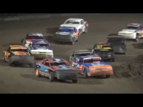 Albert Auto Night Stock Car feature Independence Motor Speedway 9/17/16