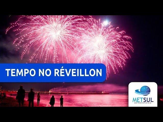 31/12/2020 - Previsão do tempo para o Ano Novo | METSUL