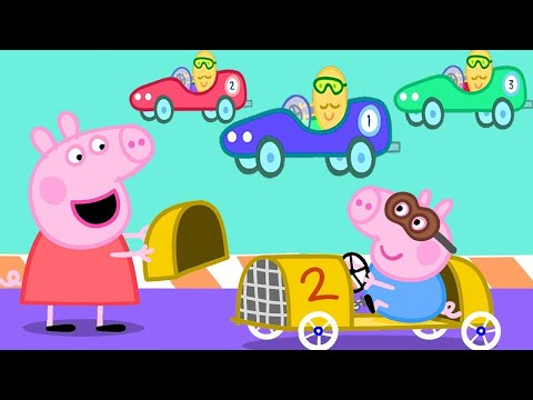 peppa-pig-official-channel-|-peppa-pig-makes-a-racing-car-for-george