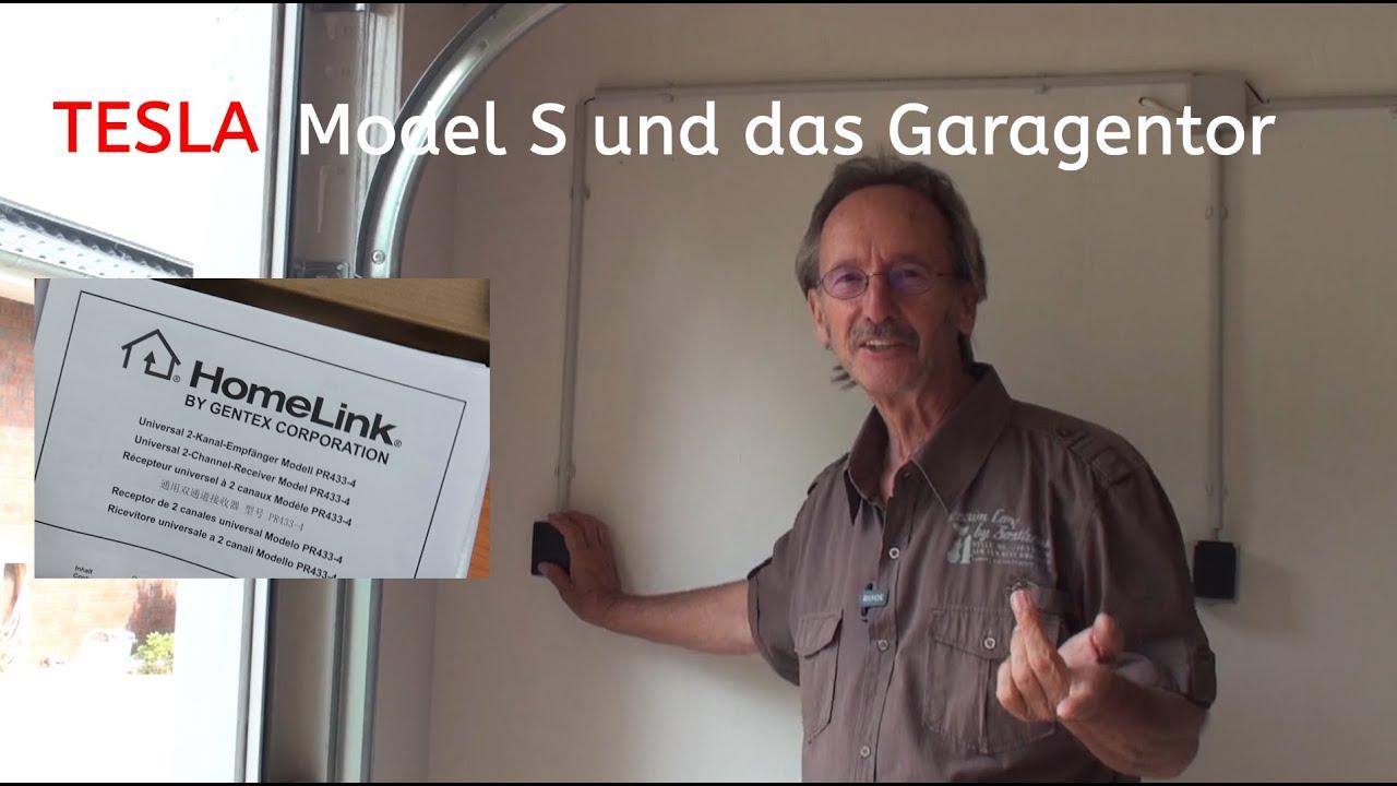 Tesla Model S und Homelink für das Hörmann Garagentor - Wie das funktuniert zeige ich euch hier