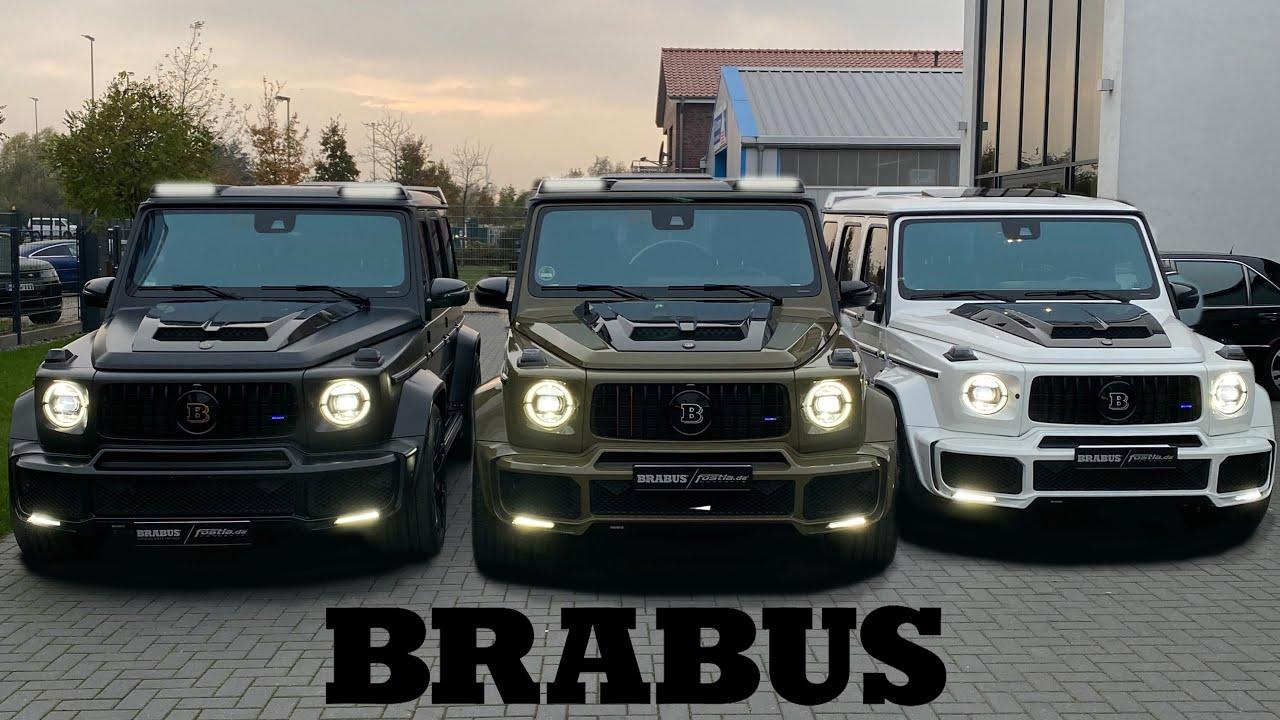 G-BRABUS INVASION! 3x G700 Brabus G-Class +DRIVE! 😱