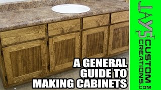 A General Guide To Making Cabinets (a Visual Guide) - 169