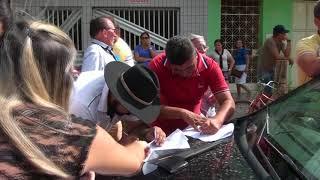 Em Tabuleiro populares protestam em caminham pela retirada do CVT do centro da cidade
