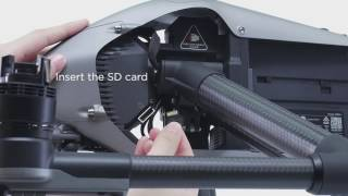 DJI Quick Tips - Inspire 2 - Mounting a Gimbal Camera and a CINESSD