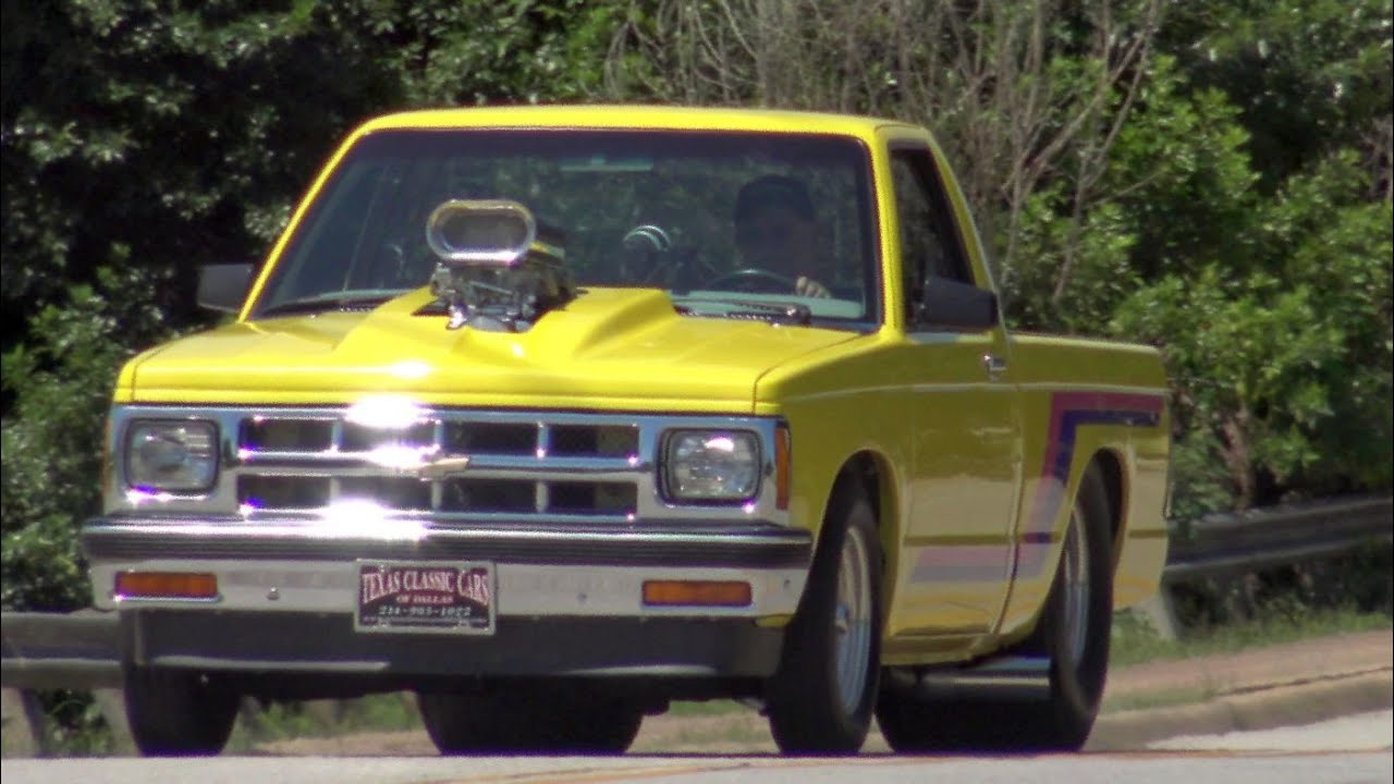 Chevy S-10 Pro Street Truck test drive & tour - YouTube
