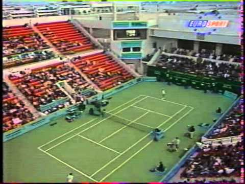 ATP Doha 95 Larsson vs Stich SF
