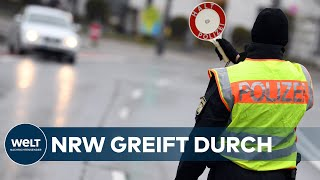 MAßNAHMEN gegen CORONA-KRISE: Null Toleranz & Strafen bei Verstößen in NRW