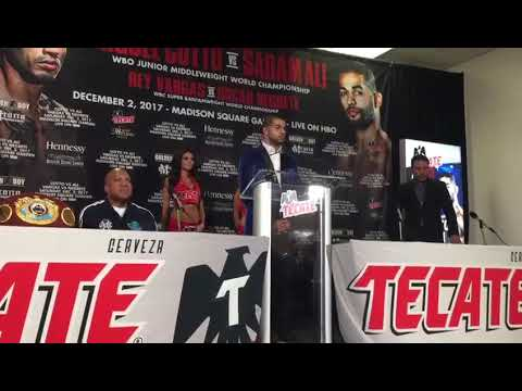 ((WOW)) Sadam AlI Seconds After Beating Miguel Cotto - esnews boxing