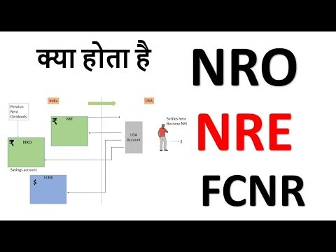 nre account | nro account || Difference between NRE and NRO accounts