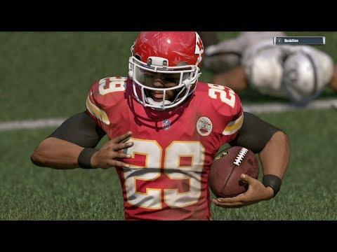 2017-2018 NFL PREVIEW SERIES PART 19: Kansas City Chiefs - Madden 17 Online Gameplay