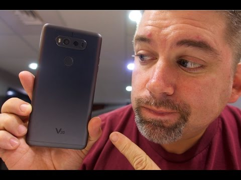 Apple and Samsung Move over? LG V20 is here!!!