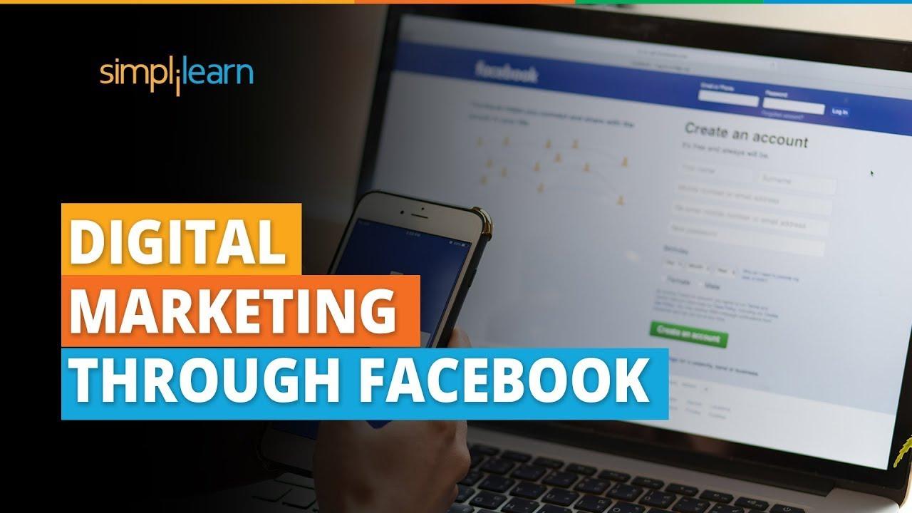 Digital Marketing Through Facebook | Facebook Marketing Tutorial | Facebook Marketing