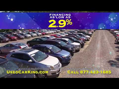 Used Car King Annual Year End Sales Event