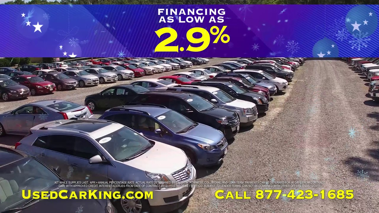 Used Car King Annual Year End Sales Event Youtube