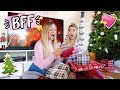 BFF Gift Exchange! Opening Christmas Presents! Vlogmas Day 21