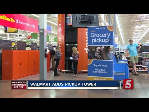 Walmart Expands Scan & Go Test In Nashville With Pickup Tower