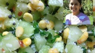 Quick Cucumber Salad / Vegan Salad - Protein Rich - Episode 11