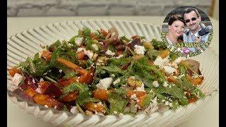Овощи в духовке, и вкусный, легкий, полезный диетический салат из них  Простой рецепт