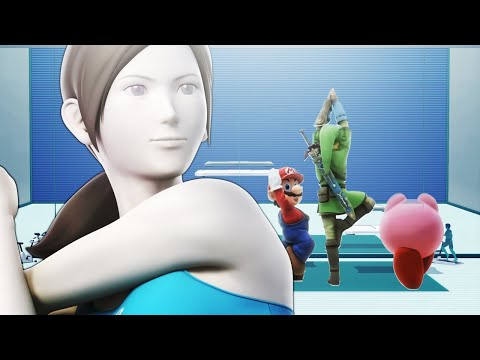 Wii Fit Trainer Teaches Yoga