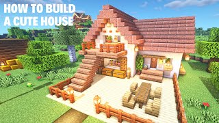 Minecraft] How To Build A Cute House YouTube