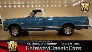 1971 Chevrolet C10 - Gateway Classic Cars St. Louis - #6541