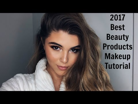BEST BEAUTY PRODUCTS OF 2017 MAKEUP TUTORIAL l Olivia Jade
