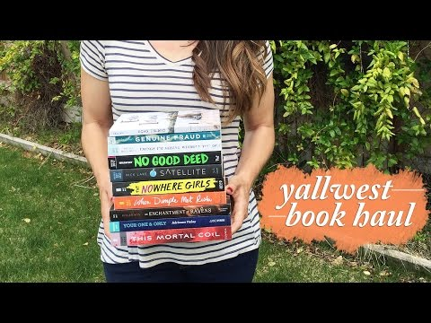 Yallwest 2017 Book Haul & Books I Got Signed