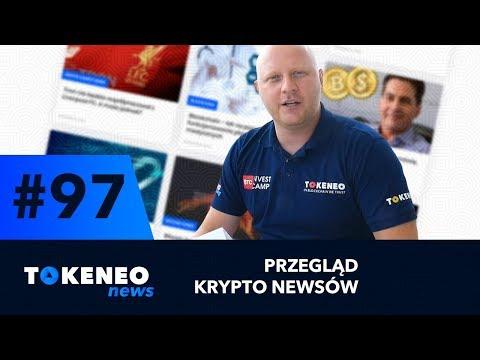 Platforma Bakkt, Ceny Kryptowalut, Nowy Rynek BTC/PLN BTC/EUR | Tokeneo.News #97