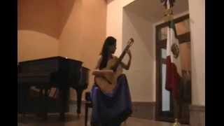 Paulina Orozco  plays, Rondo Allegretto Sonata Op 22 Fernando Sor