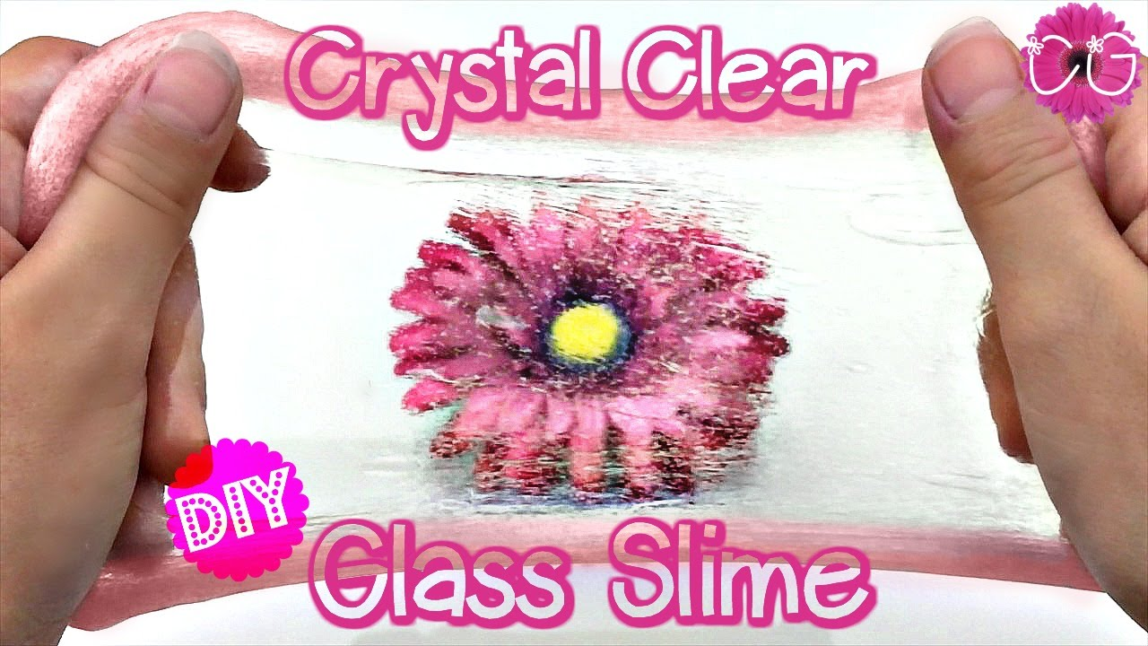 Diy Crystal Clear Glass Slime, Thinking Putty! How To Make Slime!