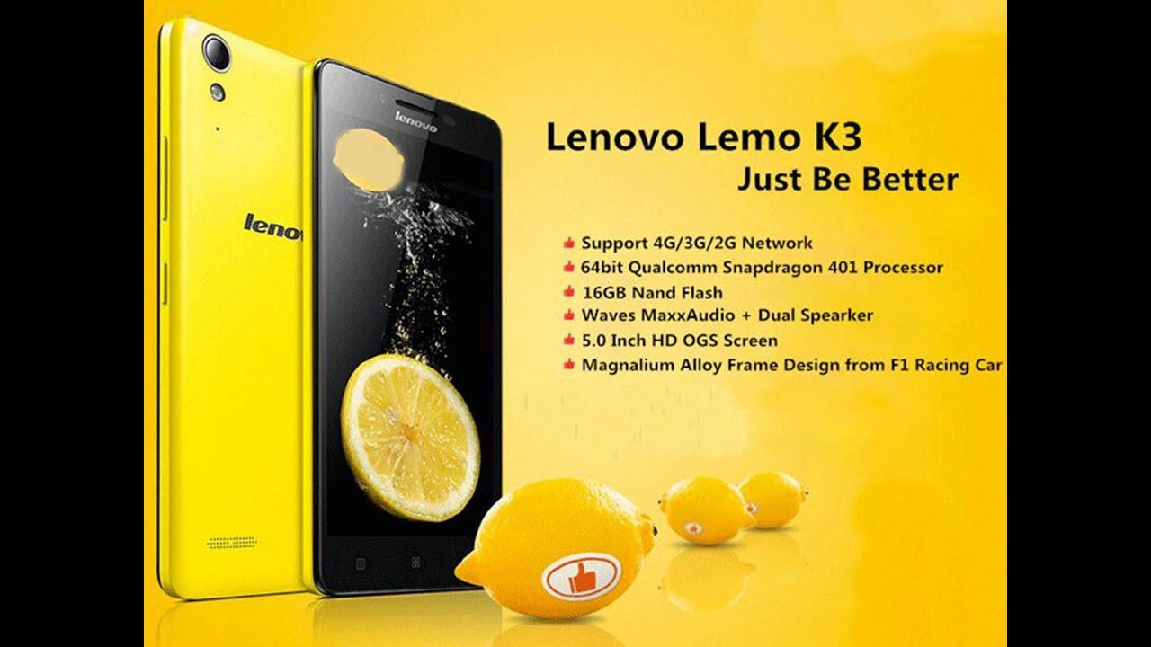 LENOVO K3 LEMON MUSIC First Review In Greece