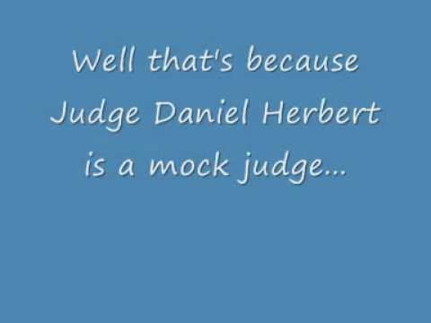 Judge Daniel Herbert - A Hypocrite and a Fraud.wmv