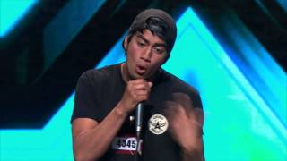 Amazing jam by Beau Monga - Sneak Peek audition from The X F...