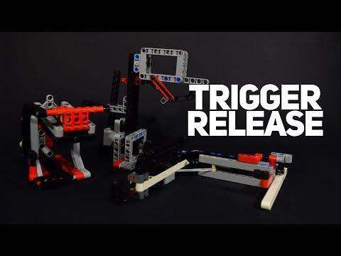 Lego Trigger Release Mechanisms for FLL!