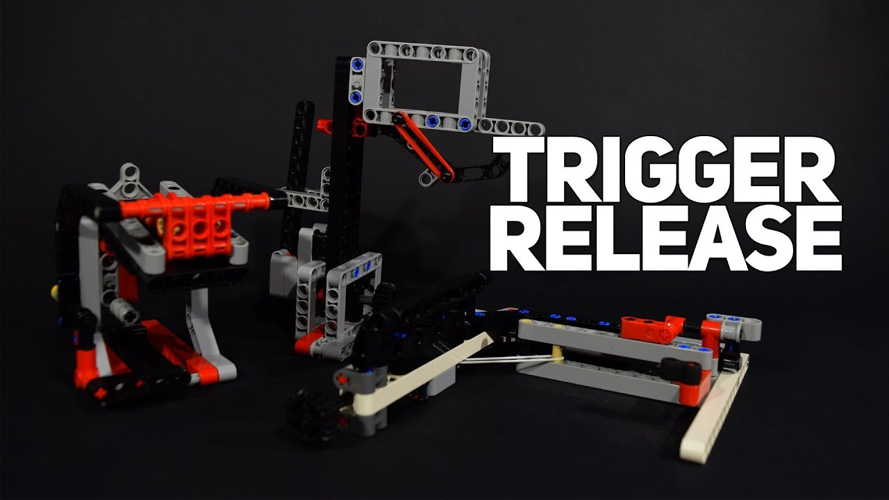 Lego Trigger Release Mechanisms For Fll Youtube
