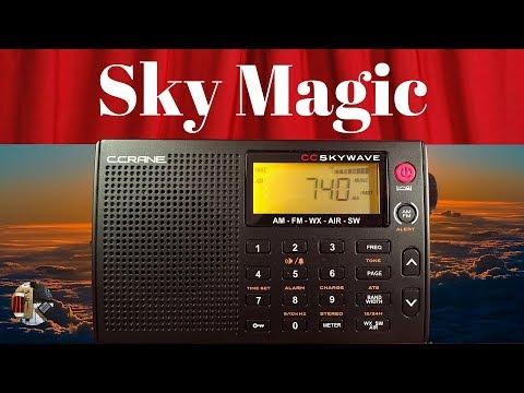 Radio Waves #30: I Love Radio! C. Crane CC Skywave  AM FM SW WX AIR Radio Review!