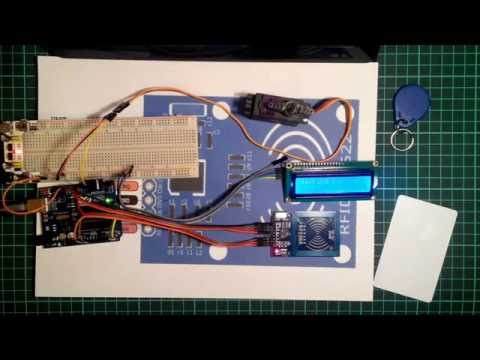 RC522 RFID Module. Доступ по карте.