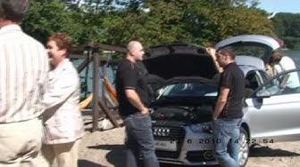 Audi A1 Vorstellung am Rheinstrand Speyer 2010 von Neubeck Autohäuser