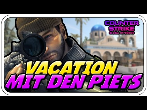 VACATION MIT DEN PIETS - Let's Play CS:GO - Dhalucard
